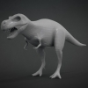 T-Rex Base Mesh^By BadKing