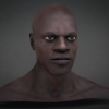 African Male 3D Head^by Badking