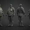 Overweight Female Model^by Sanjay Singh