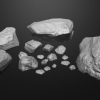 Organic Rock Model Set^By Jason Neal