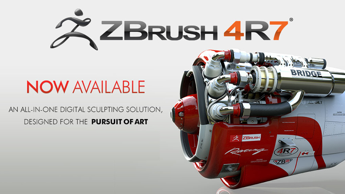ZBrush 4R7 is now Available