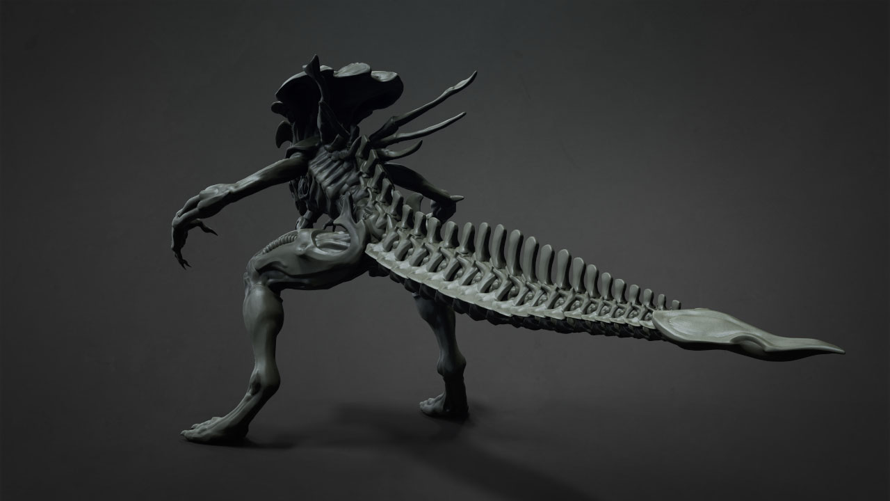 BadKing H.r. Giger Queen Alien
