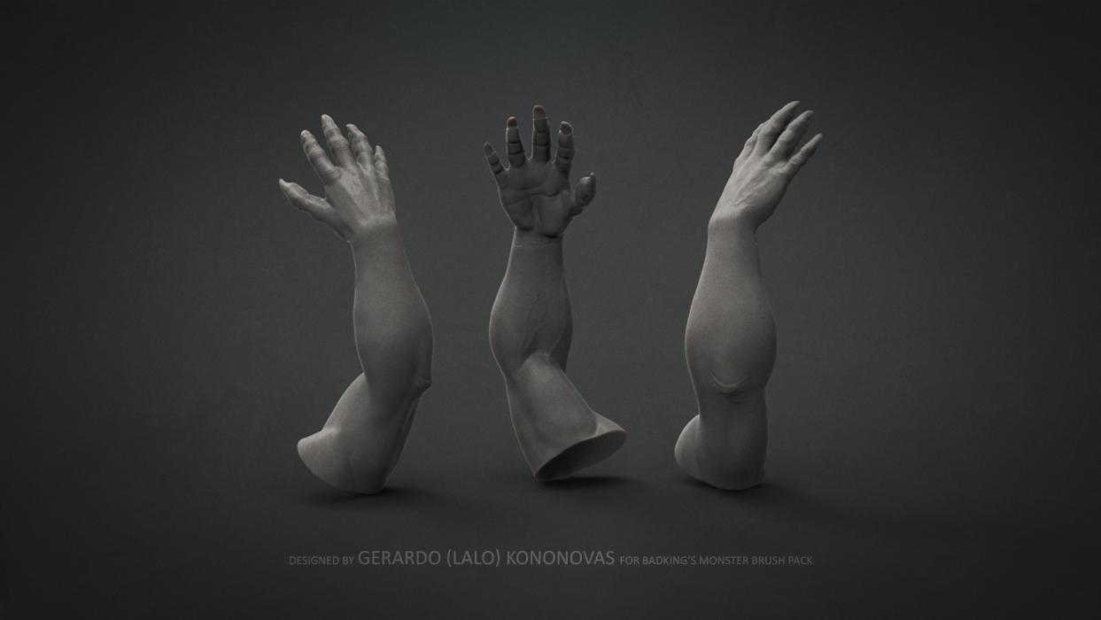 BadKing_Monster_Gerardo_Kononovas_ogre_arm