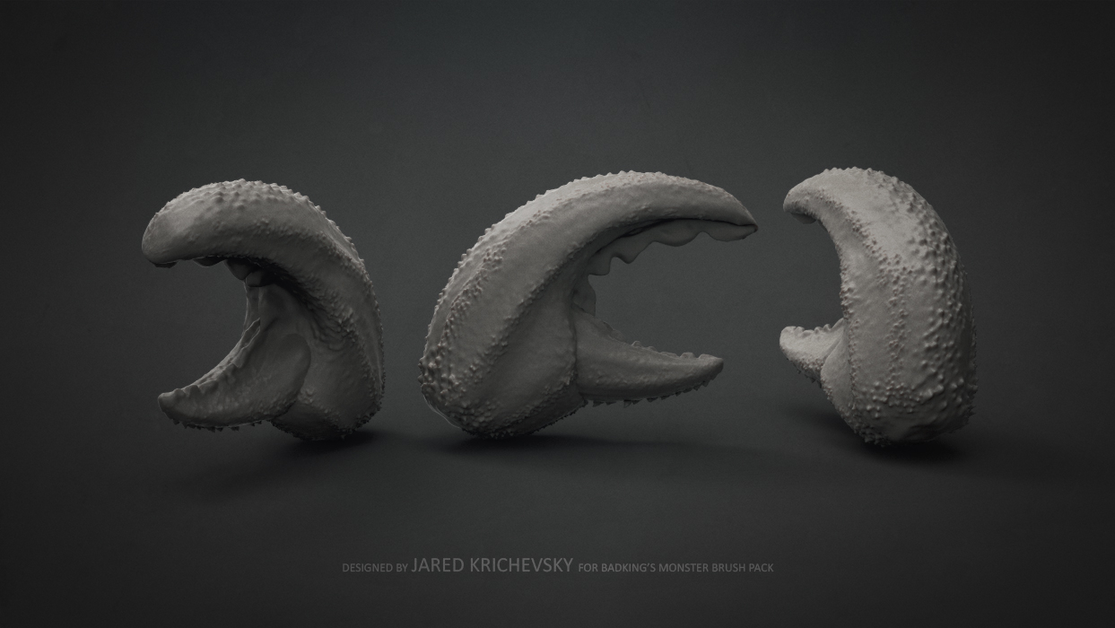 BadKing_Monster_Jared_Krichevsky_Crab_Claw