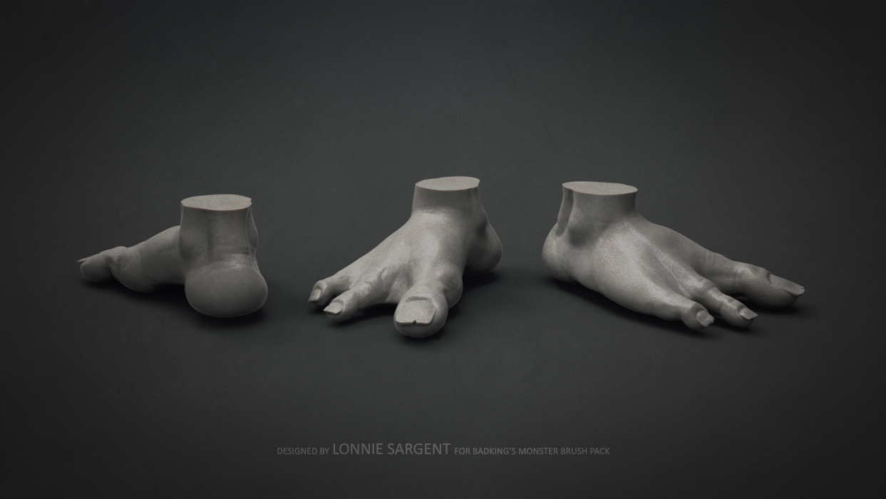 BadKing_Monster_Lonnie_Sargent_Foot