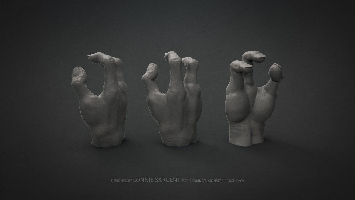 BadKing_Monster_Lonnie_Sargent_Hand