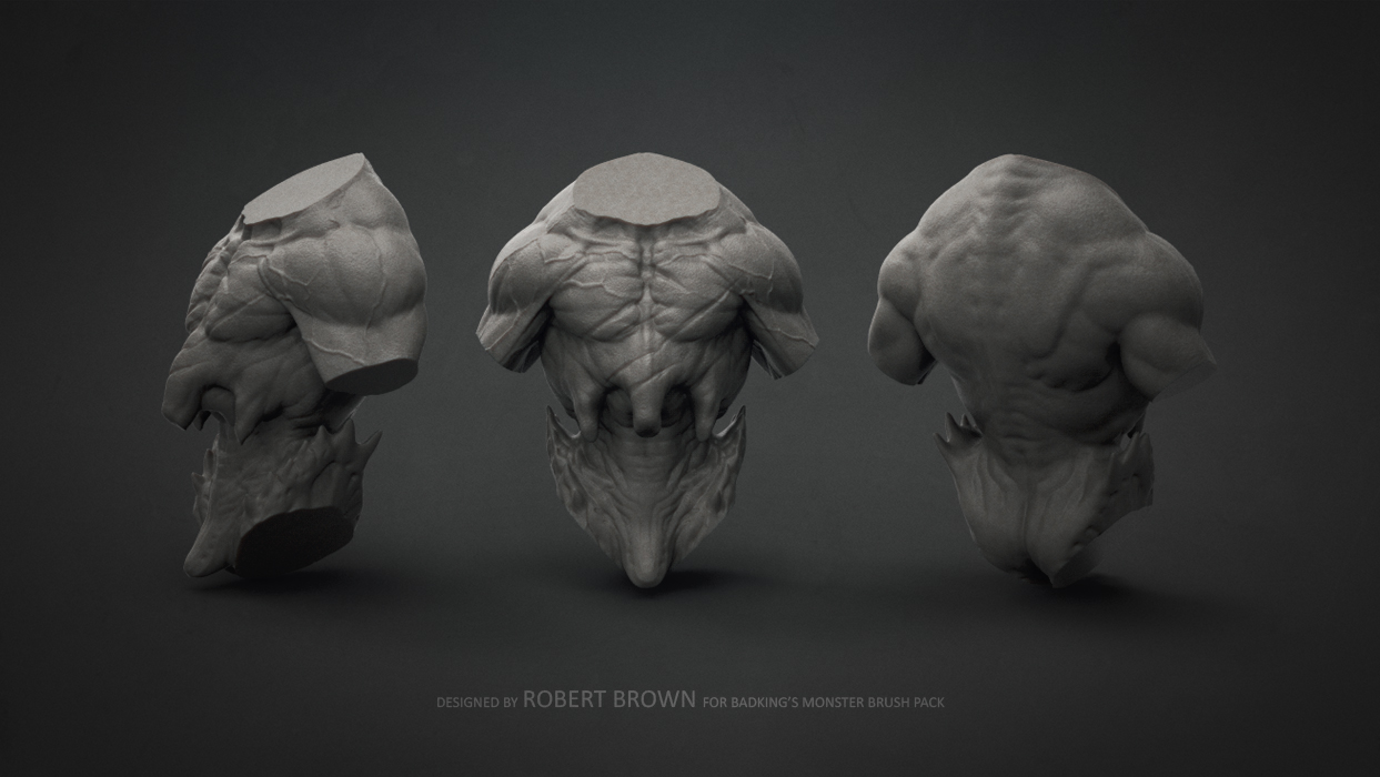 BadKing_Monster_Robert_Brown_Torso