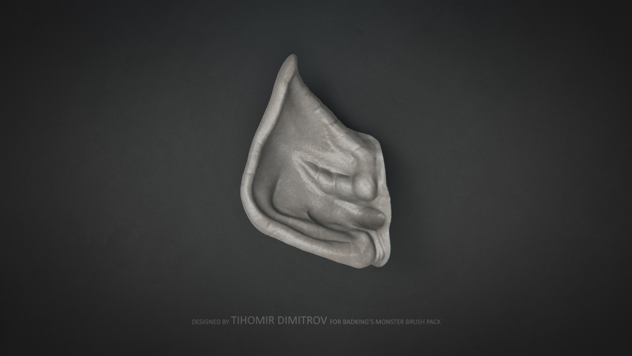 BadKing_Monster_Tihomir_Dimitrov_Ear