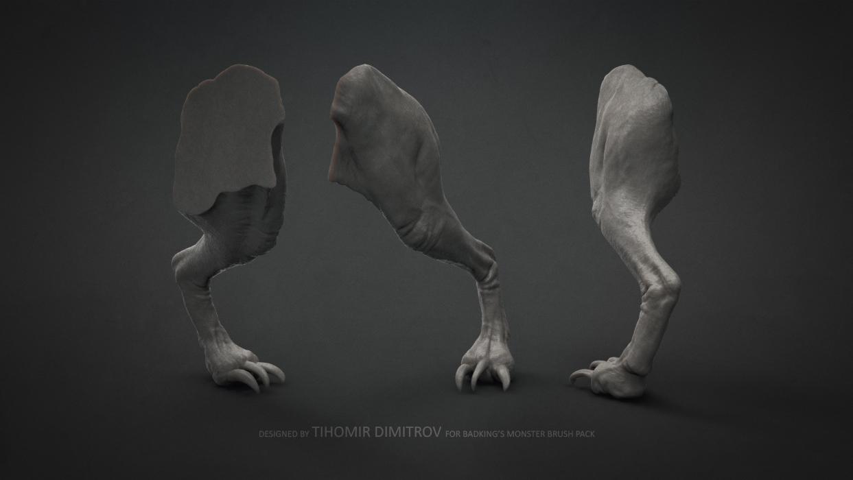 BadKing_Monster_Tihomir_Dimitrov_Leg