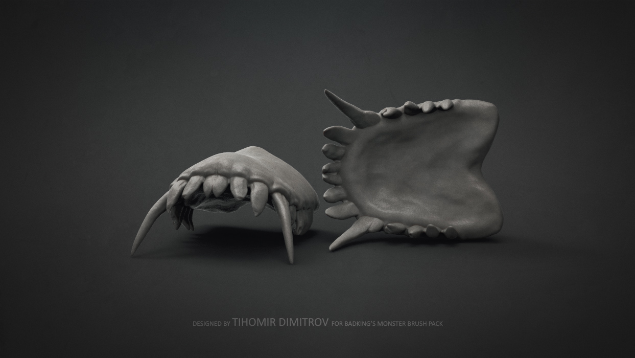 BadKing_Monster_Tihomir_Dimitrov_Teeth