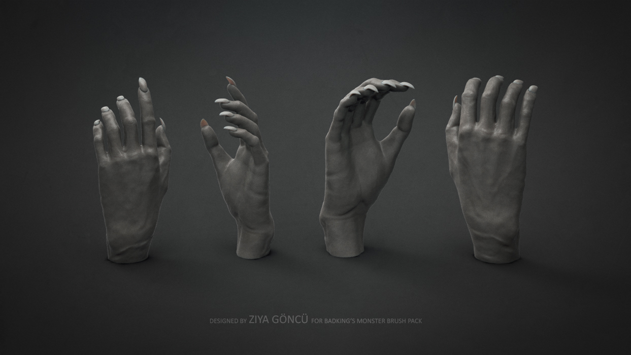 BadKing_Monster_Ziya_Göncü_Hands