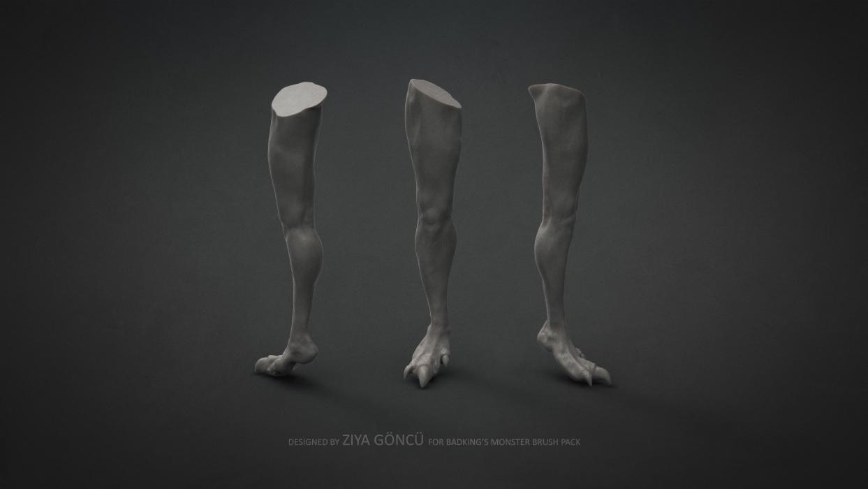 BadKing_Monster_Ziya_Göncü_Leg