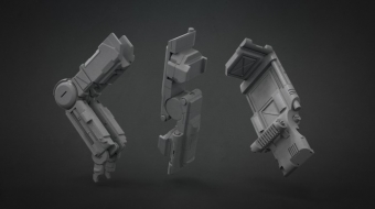 Decimated Mech Set 01^Fuad Quaderi