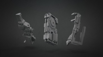 Decimated Mech Set 02^Fuad Quaderi