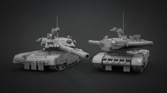 Abrams Tank^by Diego Teran