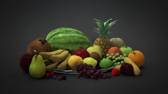 3D Fruit^by Gordon Goane