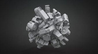 Mech Detail & Optics^By Pavel Guba & Nick Govacko