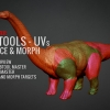 Subtools UVs Surface & Morph^by Isaac Oster