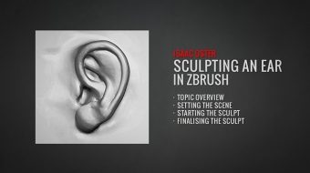Sculpting an Ear^By Isaac Oster