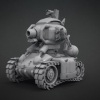 3D Slug Tank^By Oscar Dominguez