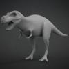 T-Rex Base Mesh^By BadKing