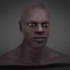 African Male 3D Head^by Badking
