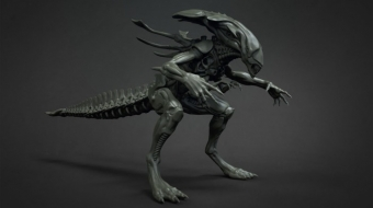Alien Queen Model^By Isaac Oster