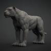 Big Cat Base Mesh^By Bojan Spirovski