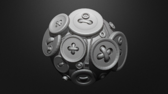 Buttons Brush Set^By BadKing