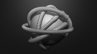Corrugated Hose Brush Set^By Andy Strukowski