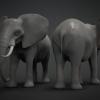 Elephant Base Mesh^By BadKing