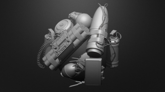 Explosive Devices Brush Set^By BadKing