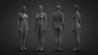 Female Base Mesh^by Eugene Fokin