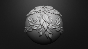 Greek Leaves Brush Set^By Marco Valenzuela
