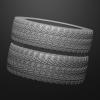 Tires Brush Set^By Bas Mazur