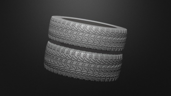 Tires Brush Set^By Bas Mazur