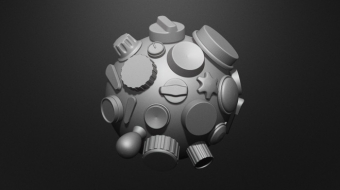 Knobs and Dials Brush Set^By Nick Miller