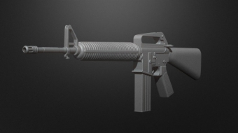 M16A1 Assault Rifle^By BadKing