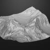 Mountain Terrain Model^By Michael Kaczmarek