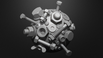 Nuts and Bolts Brush Set^By BadKIng