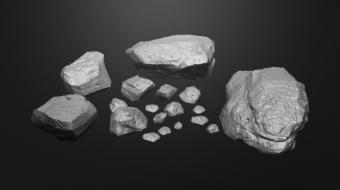 Organic Rock Model Set^By Jason Neal
