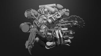 SpiderBot Brush Set^By BadKing