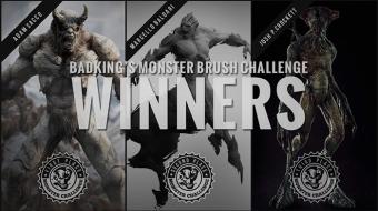BadKing's Monster Brush Challenge^By The Community