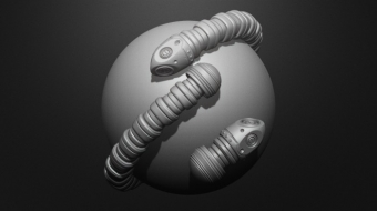 Tech and Tentacle Brush^By Nick Zuccarello