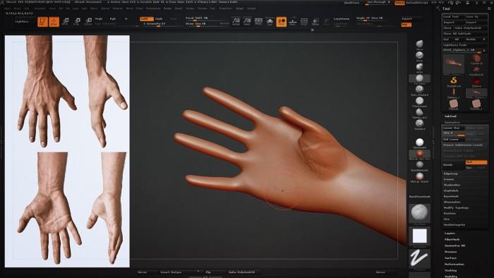 CH_02_Sculpting_a_Hand