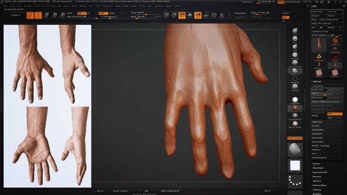 CH_04_Sculpting_a_Hand