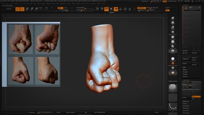 CH_07_Sculpting_a_Hand