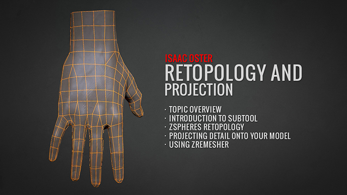 Retopology and Projection