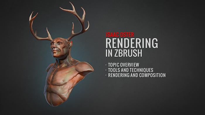Rendering in Zbrush