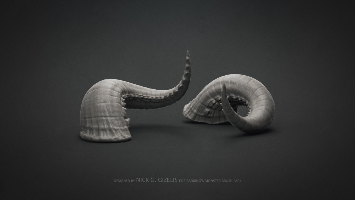 BadKing_Monster_Nick_Gizelis_Horn